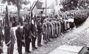 Sporto šventė Kuršėnuose. 1936 m. rugpjūčio 23 d.