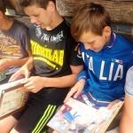 """Popietė """"Vasara su knyga"""" Gilvyčių bibliotekoje 1"""