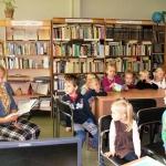 Voveriškių bibliotekoje lankėsi mažiausieji 2