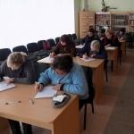 Nacionalinis diktantas Šiaulių rajono bibliotekose 3