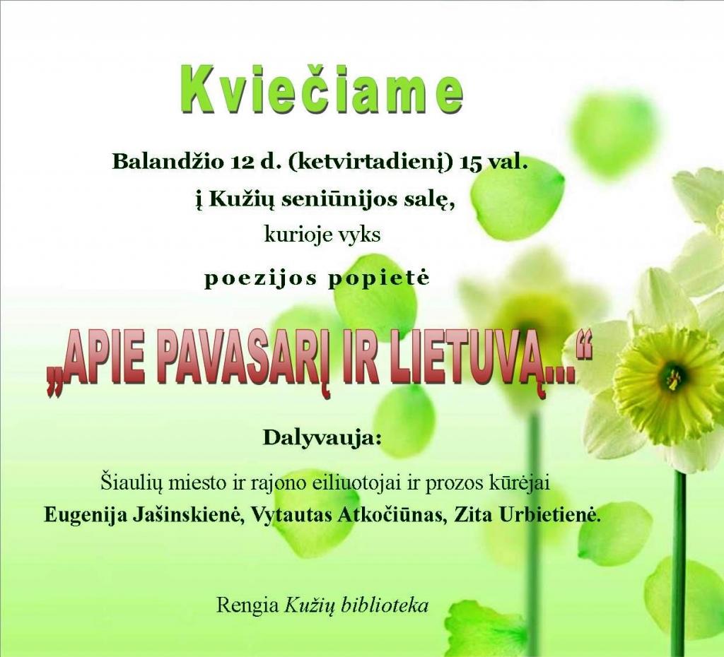 KV Poezijos pop Kužiai 1