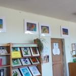 S. Sondeckio menų gimnazijos moksleivių darbų paroda Kairių bibliotekoje